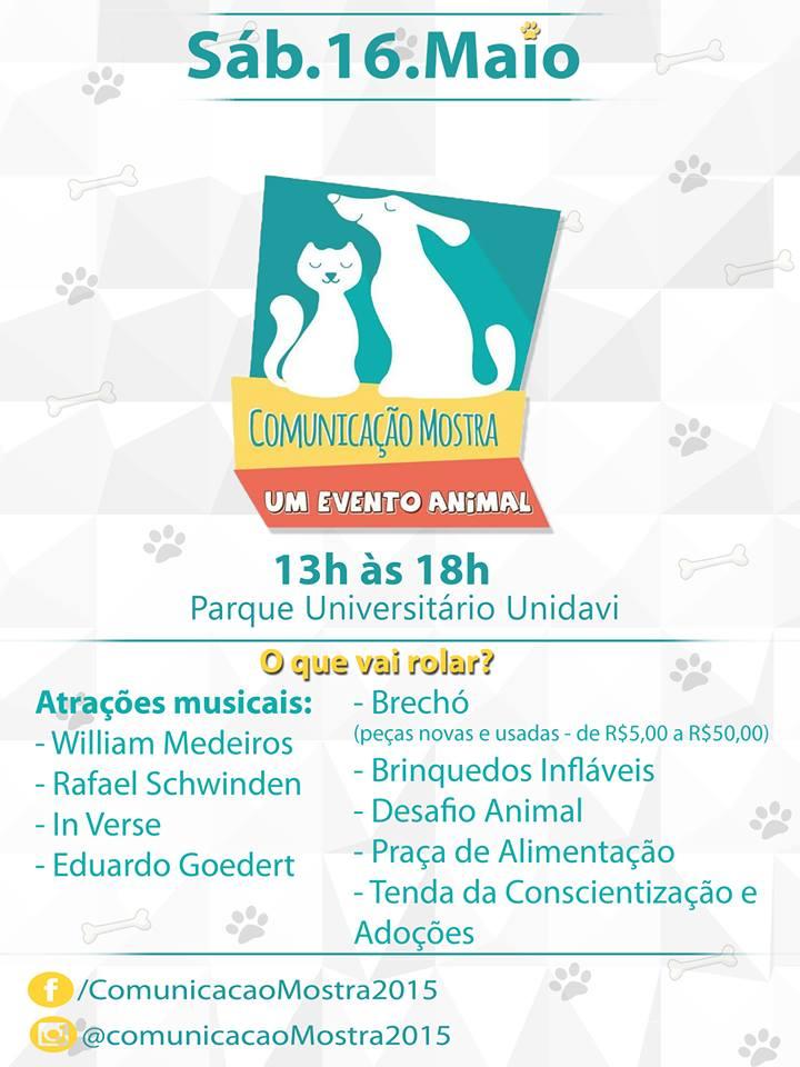 Comunicação Mostra 2015 – Um Evento Animal