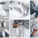 5 Formas de usar o tênis branco!