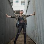 Radioactive - Look com jaqueta camuflada