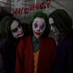 Joker cosplay: encontro dos Coringas!